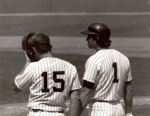 Bobby Murcer and Thurman Munson